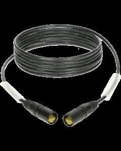 flexibles professional patch kabel Cat.6a mit PUR mantel und etherCON steckern