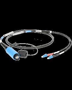 FiberLink SmartBeam DUO auf 2x LC single-mode breakout kabel