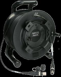 FiberLink opticalCON QUAD PC anschluss kabel auf kabeltrommel - Multimode