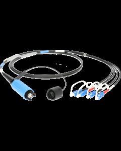 FiberLink SmartBeam QUAD auf 4x SC single-mode breakout kabel