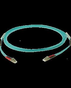 multimode fiber optic duplex flat kabel OM3: LC-LC