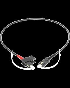 hochflexibles multimode fiber optic simplex patch kabel:  SC/PC - SC/PC