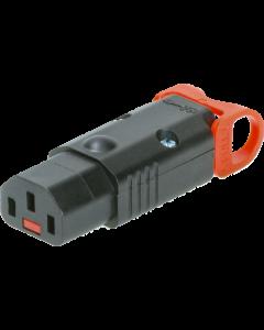 IEC C13 LOCK+ REWIREABLE kabelbuchse mit verriegelung