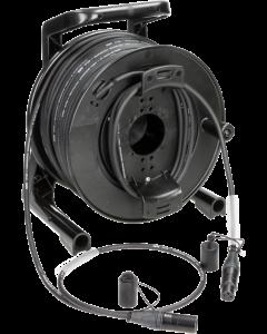 professionelles mikrofon kabeltrommel system mit XLR von Neutrik® gemäß IP65