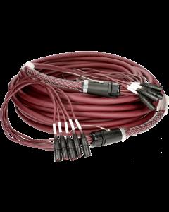 hochflexibles RamCAT 5-fach netzwerk multicore kabel für den harten road einsatz