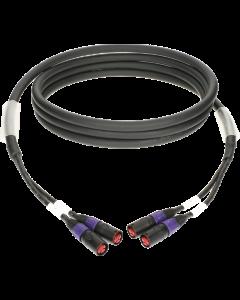 flexibles, doppelt geschirmtes duplex RamCAT netzwerkkabel mit AWG24 masivleiter