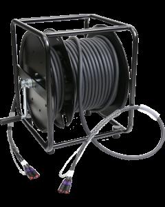 flexibles, doppelt geschirmtes duplex RamCAT kabeltrommel system mit AWG24 masivleiter