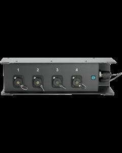TrussLink OCTO Fiber Rigg & Floor Box, multimode glasfaser signalverteilung, 1x SmartBeam OCTO - 4x LC/PC Duplex opticalCON