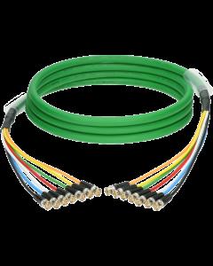 UHD 7-fach kabel 0.6/2.8 AF mit Damar & Hagen BNCslim steckern